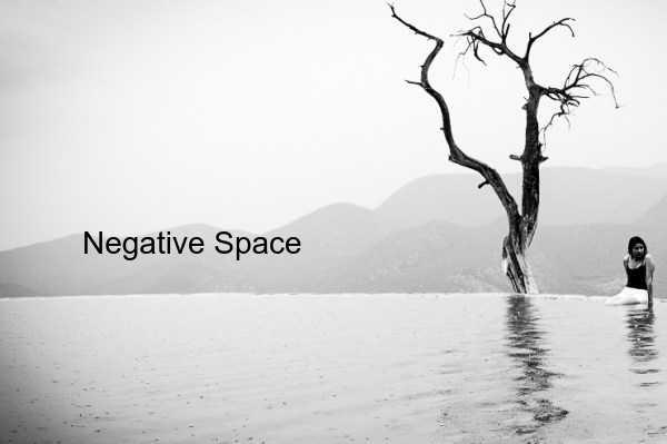 Komposisi foto negative space