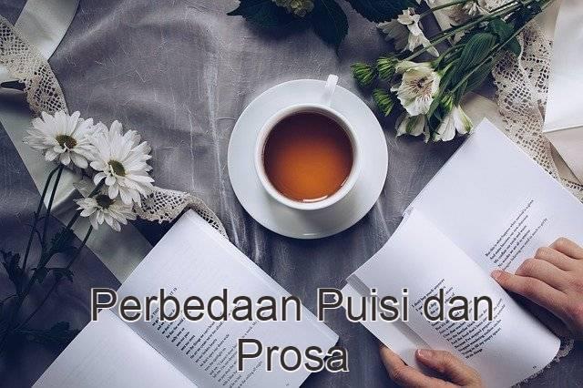apa perbedaan puisi dan prosa?